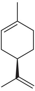Molécule de limonène